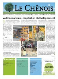 Aide au développement [10 Mo] - Chêne-Bougeries