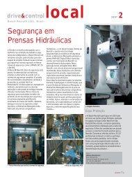 Segurança em Prensas Hidráulicas - Bosch Rexroth