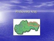 Prezentácia - Prešovský kraj