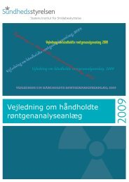 Vejledning om håndholdte røntgenanalyseanlæg, 2009