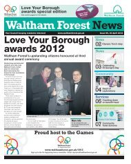 Love Your Borough Awards 2012 - Waltham Forest Council