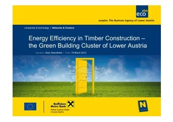 Energy Efficiency in Timber Construction – the Green Building ...