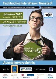 Aussteller - Fachhochschule Wiener Neustadt
