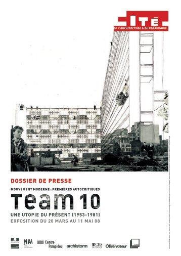 TEAM 10, Mouvement moderne - Cité de l'architecture & du patrimoine