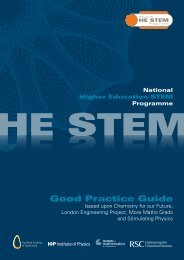 HE STEM Good Practice Guide - Bristol ChemLabS