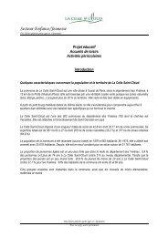 Téléchargement du Projet éducatif des Accueils de Loisirs et des ...
