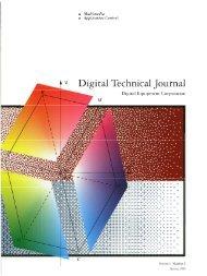 Digital Technical Journal, Volume 5, Number 2 ... - 1000 BiT
