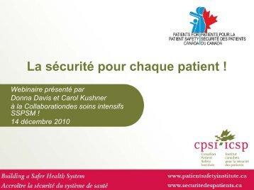 Impliquer les patients et leurs proches