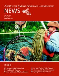 Spring - NWIFC Access - Northwest Indian Fisheries Commission