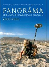 PANORÁMA 2005-2006 - Ministerstvo obrany SR