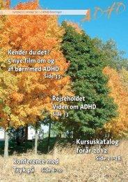 Kursuskatalog forår 2012 - ADHD: Foreningen
