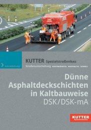 DSK - KUTTER Spezialstraßenbau GmbH & Co. KG