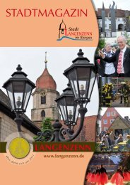 Stadtmagazin Seite 0I - Langenzenn