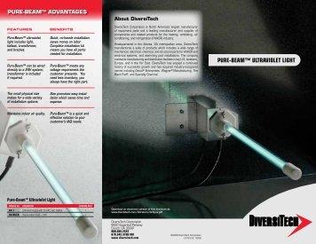 PURE-BEAM™ ULTRAVIOLET LIGHT - media - DiversiTech