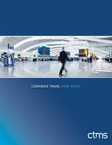 CORPORATE TRAVEL MADE SIMPLE - ctms