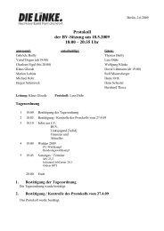 Protokoll der BV-Sitzung vom 18.5.2009 (pdf) - Reinickendorf