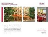 Hotel Sales Sheet - Marriott