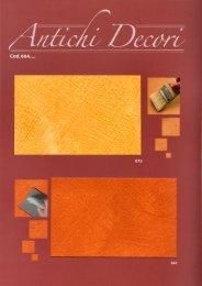 antichi decori colori - Casati