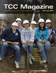 TCC Magazine - Tacoma Community College