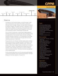 construction - Capital Planning and Project Management