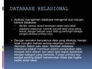 DATABASE RELASIONAL - Kumoro.staff.ugm.ac.id