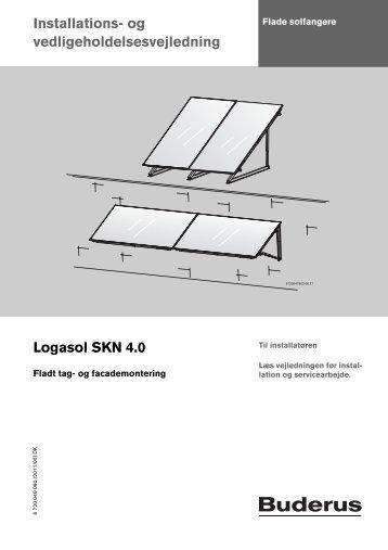 2. SKN4,0 monteringsvejledning fladt tag.pdf - Buderus