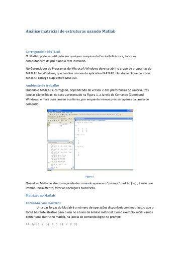 Apostila Matlab - LMC