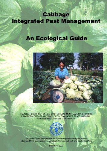 Cabbage Integrated Pest Management : An Ecological Guide.