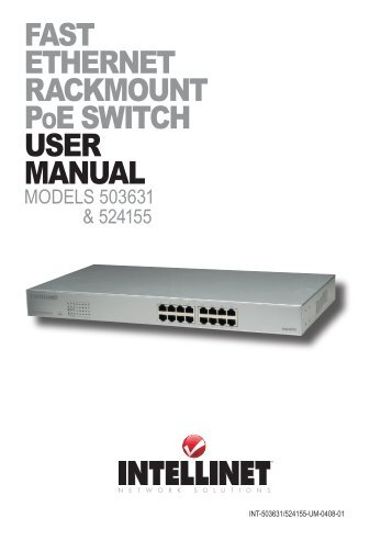 Ethernet Switch User manual