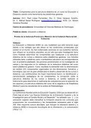 Título: Componentes para la estructura didáctica de un curso de ...