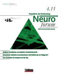 NEW! - Neurowissenschaftliche Gesellschaft eV - MDC