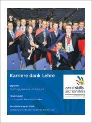 Karriere dank Lehre Experten - worldskills Liechtenstein