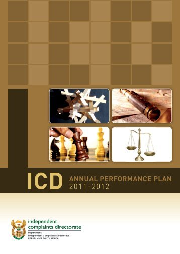 annual performance plan 2011-2012 - Independent Complaints ...