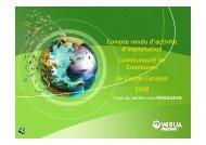 Rapport OM 2008 - Mairie de Cestas