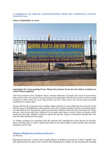 issue 2, 2012 - Uzbek-German Forum for Human Rights (UGF)