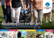Activities Guide 2013 - South West Alliance of Rural Health