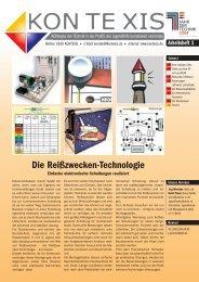 Die Reißzwecken-Technologie - KON TE XIS