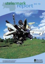Steiermark Report April 2010 - einseitige Ansicht - Kommunikation ...