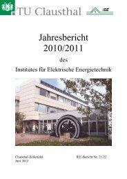 IEE - Institut für Elektrische Energietechnik - TU Clausthal