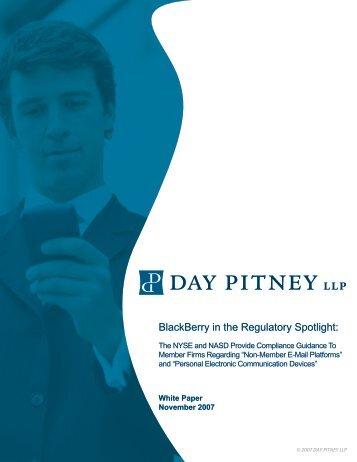 BlackBerry in the Regulatory Spotlight: