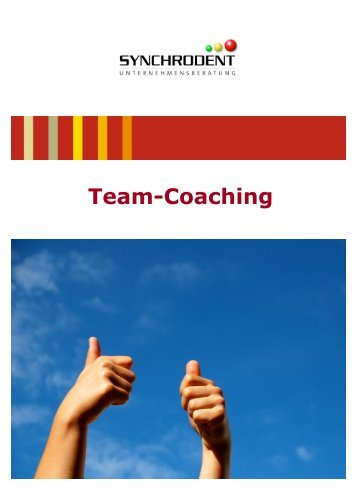 Team-Coaching - Synchrodent