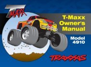 TMaxx operating instructions 52 - Great Hobbies