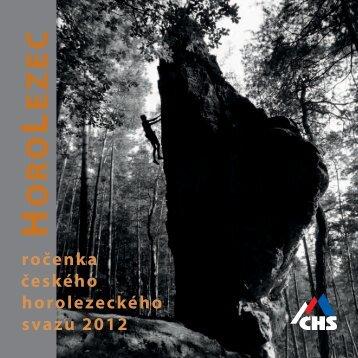 ročenka ČHS 2012 ke stažení - Český horolezecký svaz