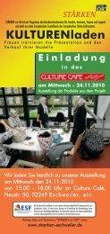 flyer kulturenladen Einladung-neu.qxp - Integration Eschweiler