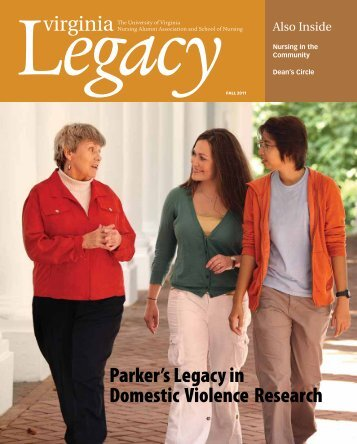 Parker's Legacy in Domestic Violence Research - School of Nursing ...