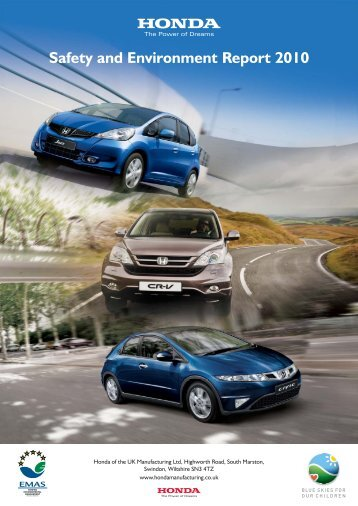 Download PDF - Honda of the UK Manufacturing Ltd