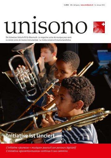 Page 1 of 01_USO_Titelseite - Schweizer Blasmusikverband