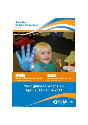 Your guide to what's on April 2011 - June 2011 - Community ...
