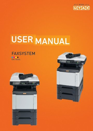 Manual user - Utax