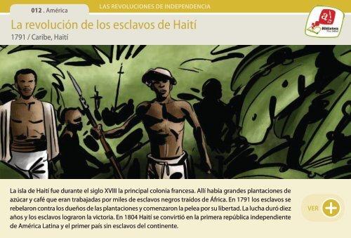 La revolución de los esclavos de Haití - Manosanta